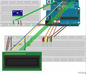 温湿度気圧計配線図