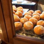 パンが並ぶ