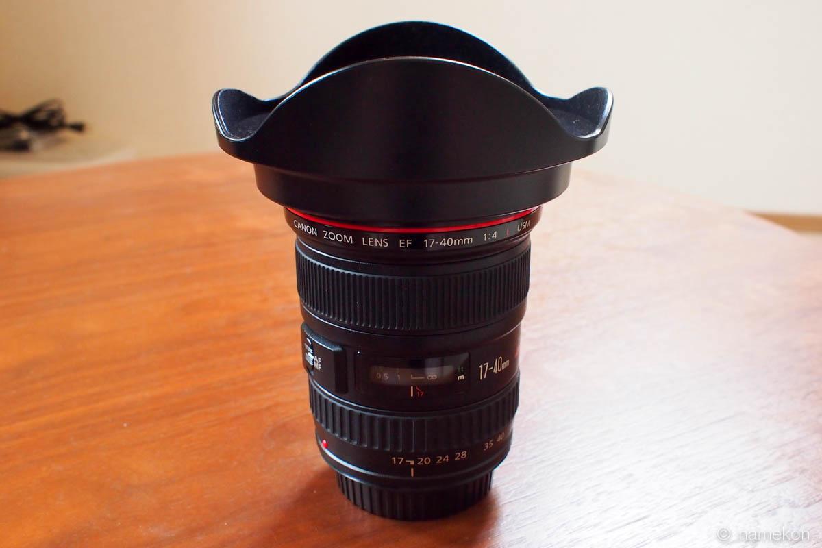 ついにlレンズデビュー ef17 40mm f4l usmを購入 deathmarch net